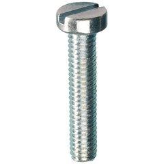 Metaalschroef cilinderkop ijzerverzinkt