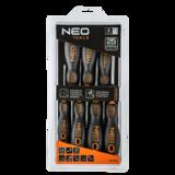 NEO Schroevendraaierset 7 Delig verpakking