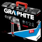 Graphite boormachine 650 watt koffer