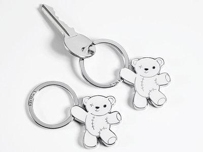 Troika sleutelhanger Teddy Wit
