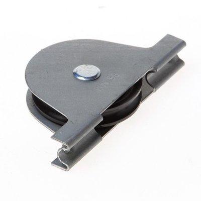 Rolslot polymide wiel kogelgelagerd 40mm