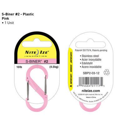 S-Biner plastic pink 50mm