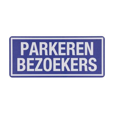 Bord Parkeren Bezoekers