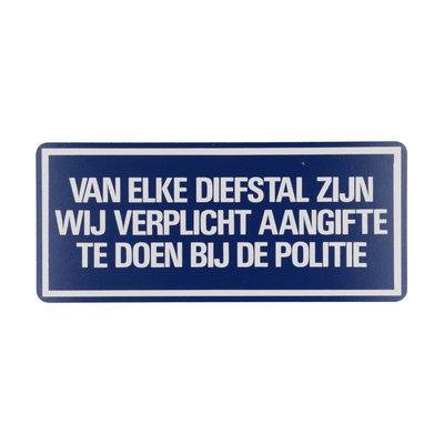 Bord Van Elke Diefstal