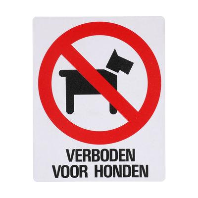 Bord  Verboden Voor Honden