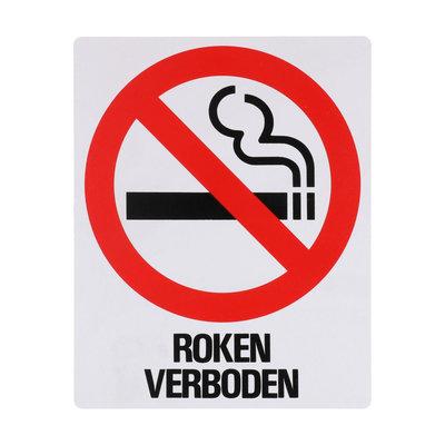 Bord Roken Verboden