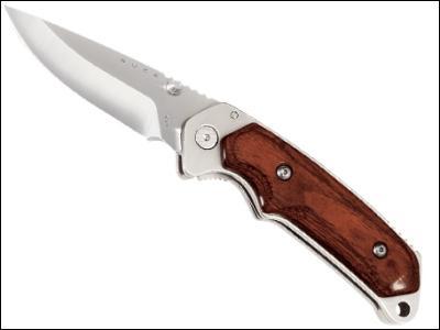 Buck Alpha Hunter Rosewood