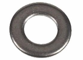 paumelle ring 8mm gat 14x1 ijzervernikkeld