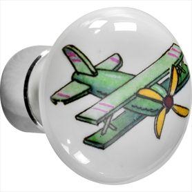 Deco nikkel vliegtuig