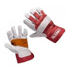 Handschoen Glovwork 200, rundsplitleder