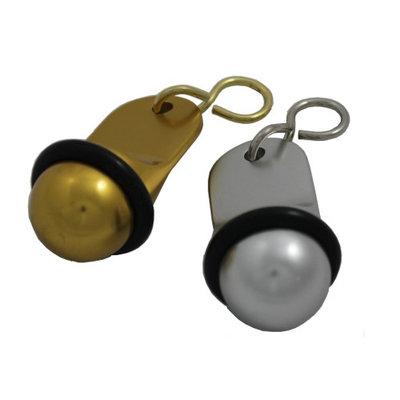 Hotelballen Aluminium goud