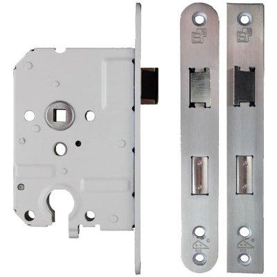 Veiligheidsslot PC55mm SKG ** afgeronde voorplaat