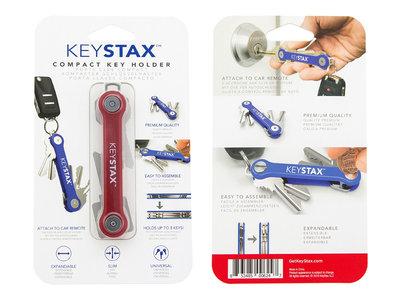 Keystax rood Kunstof