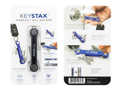 Keystax zwart Kunstof
