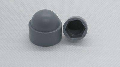 Moerkappen M8 grijs