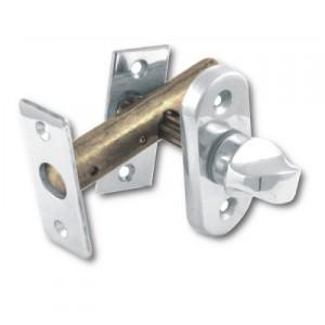 Voordeurgrendel 50mm PVD nikkel