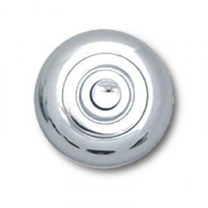 Beldrukker Kira chroom