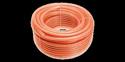 PVC Luchtslangrol 50mrt Extra verstevigd, 8,0x13,0mm, 12 Bar