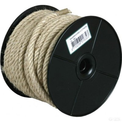 Raamkoord jute 3 ponds 8 mm