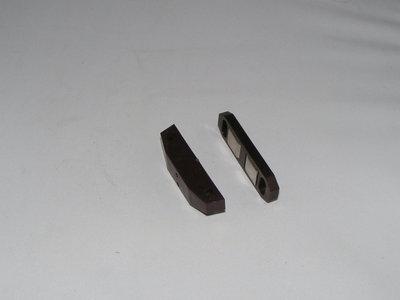 Magneet snapper kunststof  wit 4KG