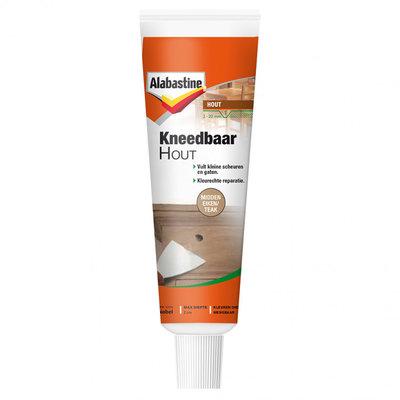 Alabastine kneedbaar hout midden eiken/teak 50 ml