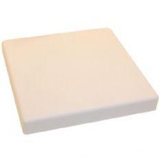 Afdek/plafondplaat vierkant wit