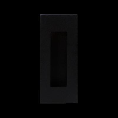 Schuifdeurkom rechthoekig 120x40 mm