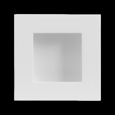 Schuifdeurkom vierkant 40x40 mm