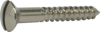 Houtschroef 2,5x25 nikkel
