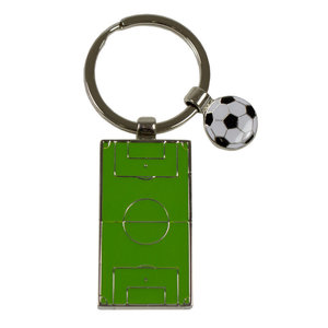 Sleutelhanger Voetbalveld & Bal