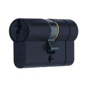 Iseo knopcilinder 30/30 zwart
