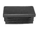 Insteekdop zwart 120x60mm