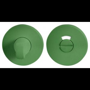 Toiletgarnituur rond 53x6mm stift 8mm Leaf