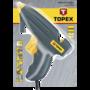 TOPEX Lijmpistool 11mm 200watt kunststof
