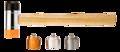 Neo Terugslag Vrije Hamer 660gr, 45mm verwisselbaar