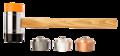 Neo Terugslag Vrije Hamer 1340gr, 60mm verwisselbaar