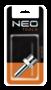 Neo Nippel met slang verbindstuk 8mm 1/4