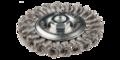 Draad cirkelborstel 115mm open