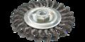 Draad cirkelborstel 125mm open