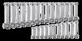 Neo Steekringsleutel set 6-32 mm 26-delig