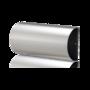 RVS mat krantenrolhouder 175x375mm