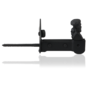 Smeedijzer luikvastzetter vast max. luikdikte 60mm met plaat en tuimelaar