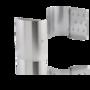 RVS mat sleutelkastje 300x210mm met 8 haken