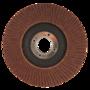 Lamellen schijf 125mm k80